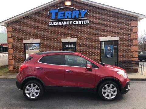 2015 Buick Encore for sale at Terry Clearance Center in Lynchburg VA