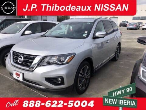 2017 Nissan Pathfinder for sale at J P Thibodeaux Used Cars in New Iberia LA