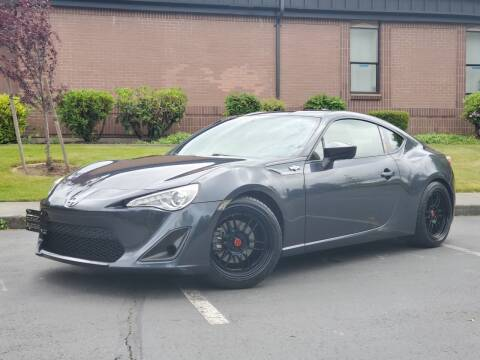 2013 Scion FR-S for sale at SEATTLE FINEST MOTORS in Lynnwood WA