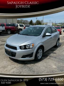 2015 Chevrolet Sonic for sale at Sapaugh Classic Joyride in Salem MO