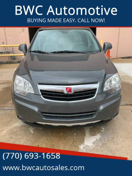 2008 Saturn Vue for sale at BWC Automotive in Kennesaw GA