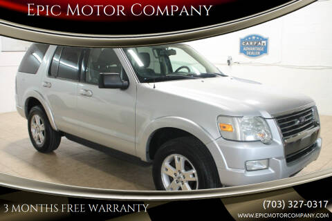 2010 Ford Explorer for sale at Epic Motor Company in Chantilly VA