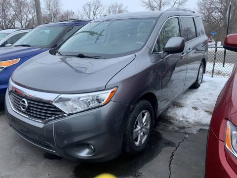 2017 Nissan Quest for sale at MIDWEST CAR SEARCH in Fridley MN