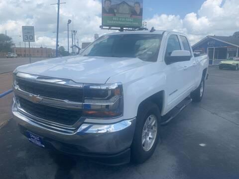 2018 Chevrolet Silverado 1500 for sale at EAGLE AUTO SALES in Lindale TX