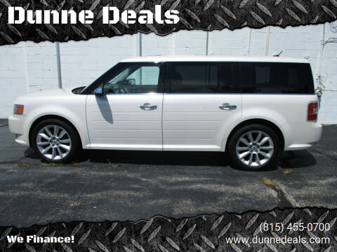 2012 Ford Flex for sale at Dunne Deals in Crystal Lake IL