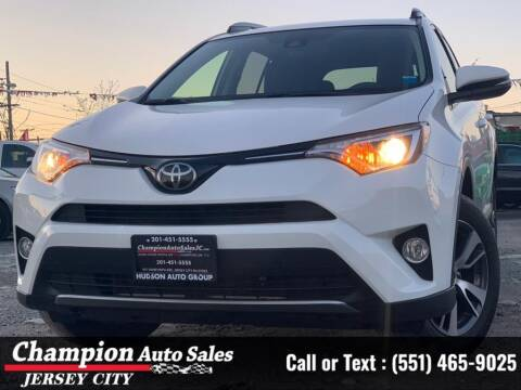 2018 Toyota RAV4 for sale at CHAMPION AUTO SALES OF JERSEY CITY in Jersey City NJ