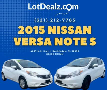 2015 Nissan Versa Note for sale at ROCKLEDGE in Rockledge FL