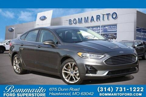 2020 Ford Fusion for sale at NICK FARACE AT BOMMARITO FORD in Hazelwood MO