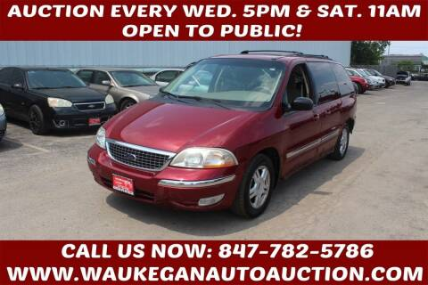 2003 Ford Windstar for sale at Waukegan Auto Auction in Waukegan IL