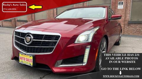 2014 Cadillac CTS for sale at Rocky's Auto Sales in Worcester MA