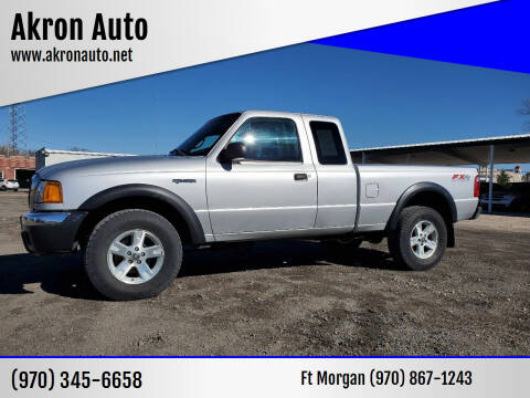 2005 Ford Ranger for sale at Akron Auto - Fort Morgan in Fort Morgan CO