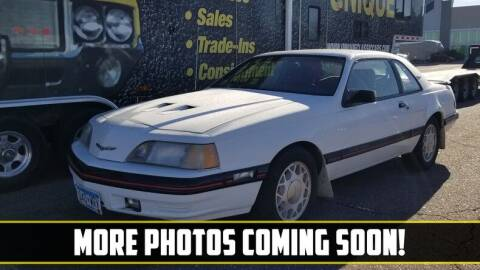 1988 Ford Thunderbird for sale at UNIQUE SPECIALTY & CLASSICS in Mankato MN