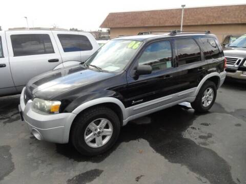 2006 Ford Escape Hybrid for sale at Gridley Auto Wholesale in Gridley CA