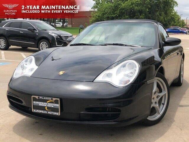 2003 Porsche 911 for sale at European Motors Inc in Plano TX