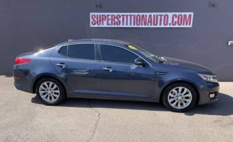 2015 Kia Optima for sale at Superstition Auto in Mesa AZ