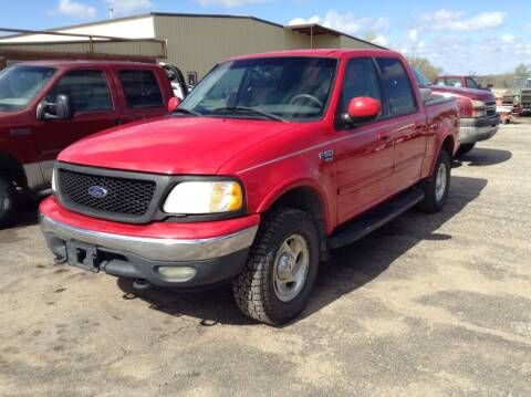 2001 Ford F-150 for sale at Melton Chevrolet in Belleville KS