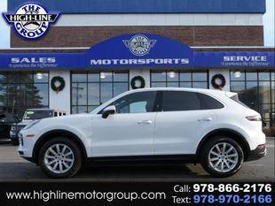 2019 Porsche Cayenne for sale at Highline Group Motorsports in Lowell MA
