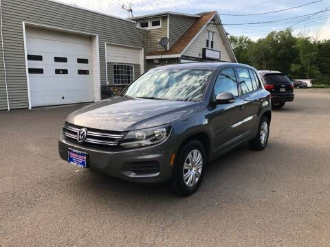 2013 Volkswagen Tiguan for sale at Prime Auto LLC in Bethany CT