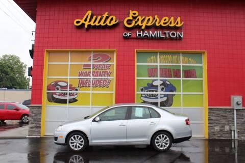 2010 Volkswagen Jetta for sale at AUTO EXPRESS OF HAMILTON LLC in Hamilton OH