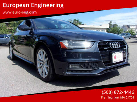 2015 Audi A4 for sale at European Engineering in Framingham MA
