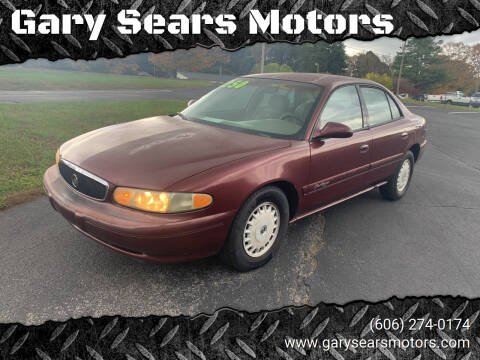 2000 Buick Century for sale at Gary Sears Motors in Somerset KY