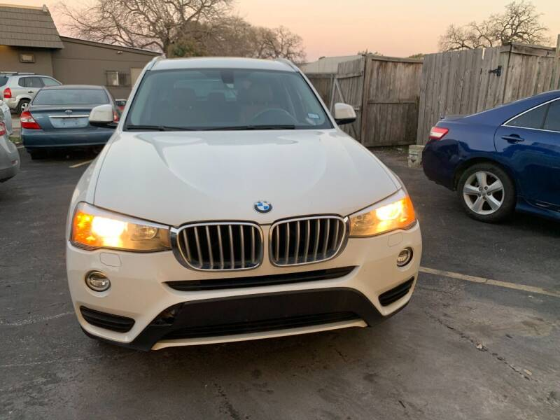 2015 BMW X3 for sale at SBC Auto Sales in Houston TX