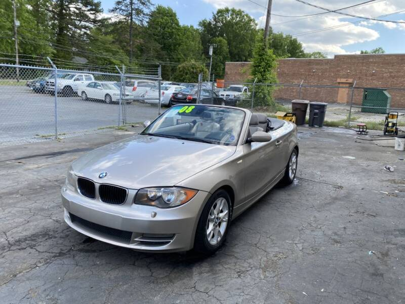 2008 BMW 1 Series for sale at SUN AUTOMOTIVE in Greensboro NC