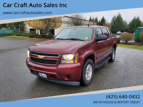 2008 Chevrolet Avalanche for sale at Car Craft Auto Sales Inc in Lynnwood WA