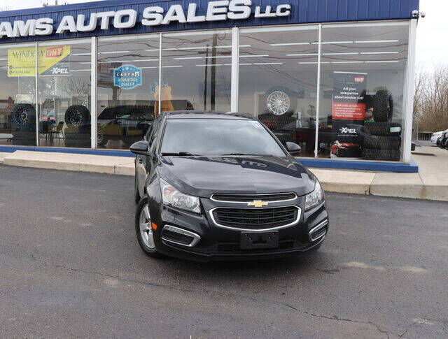 2015 Chevrolet Cruze for sale at Williams Auto Sales, LLC in Cookeville TN