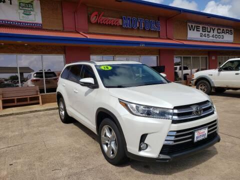 2018 Toyota Highlander for sale at Ohana Motors in Lihue HI