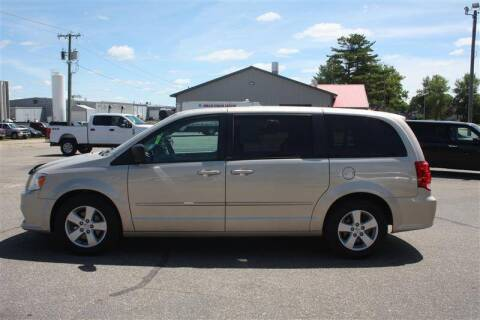 2013 Dodge Grand Caravan for sale at SCHMITZ MOTOR CO INC in Perham MN