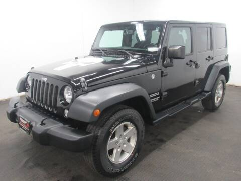 2016 Jeep Wrangler Unlimited for sale at Automotive Connection in Fairfield OH