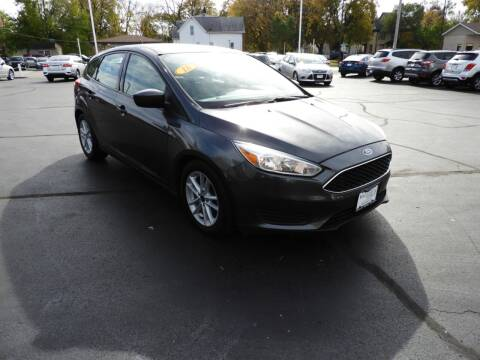 2018 Ford Focus for sale at Grant Park Auto Sales in Rockford IL