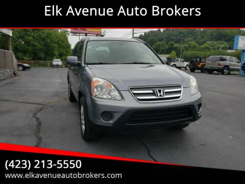 2005 Honda CR-V for sale at Elk Avenue Auto Brokers in Elizabethton TN