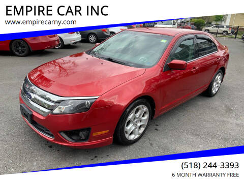 2010 Ford Fusion for sale at EMPIRE CAR INC in Troy NY