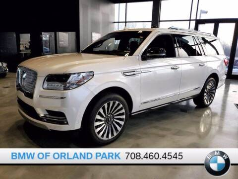 2019 Lincoln Navigator L for sale at BMW OF ORLAND PARK in Orland Park IL