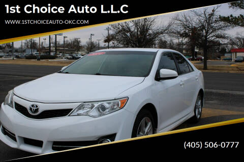 2014 Toyota Camry for sale at 1st Choice Auto L.L.C in Oklahoma City OK