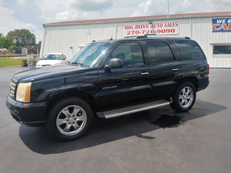 2005 Cadillac Escalade for sale at Big Boys Auto Sales in Russellville KY