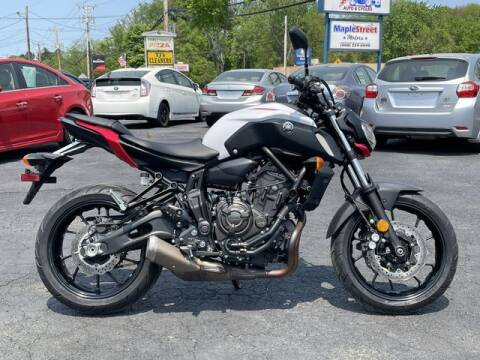 2018 Yamaha MT-07 for sale at All Star Auto  Cycle in Marlborough MA