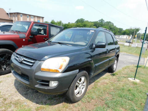 2008 Kia Sportage for sale at WOOD MOTOR COMPANY in Madison TN