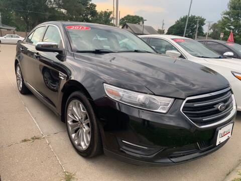 2013 Ford Taurus for sale at Triangle Auto Sales 2 in Omaha NE