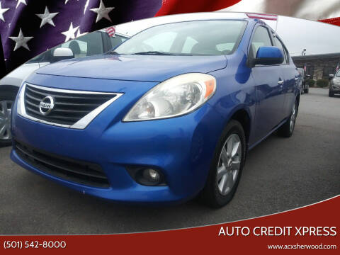 2013 Nissan Versa for sale at Auto Credit Xpress in North Little Rock AR
