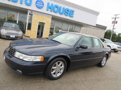 2003 Cadillac Seville for sale at Auto House Motors in Downers Grove IL
