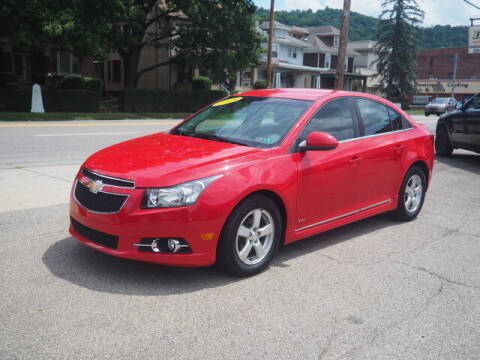 2014 Chevrolet Cruze for sale at Advantage Auto Sales in Wheeling WV