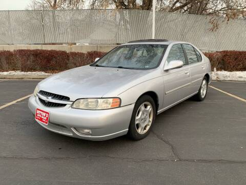 2001 Nissan Altima for sale at BITTON'S AUTO SALES in Ogden UT