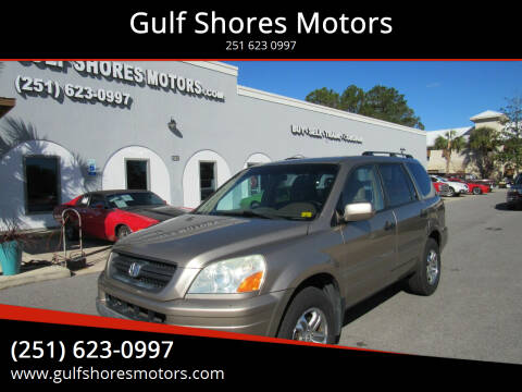 2005 Honda Pilot for sale at Gulf Shores Motors in Gulf Shores AL