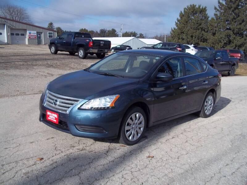 2014 Nissan Sentra for sale at SHULLSBURG AUTO in Shullsburg WI