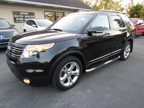 2014 Ford Explorer for sale at 2010 Auto Sales in Troy NY
