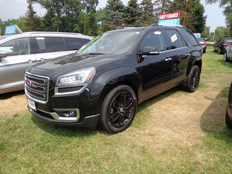 2017 GMC Acadia Limited for sale at North American Credit Inc. in Waukegan IL