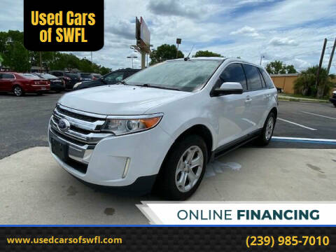 2014 Ford Edge for sale at Used Cars of SWFL in Fort Myers FL